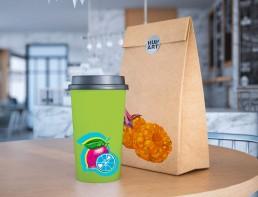 Kunst Handel Lebensmittel Verpackung individuelle bedrucken
